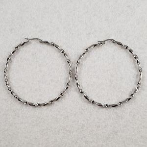 """2.25"""" Stainless Steel Hoops"""